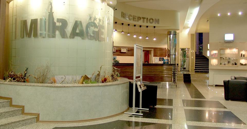 Burgas Mirage Hotel Reception